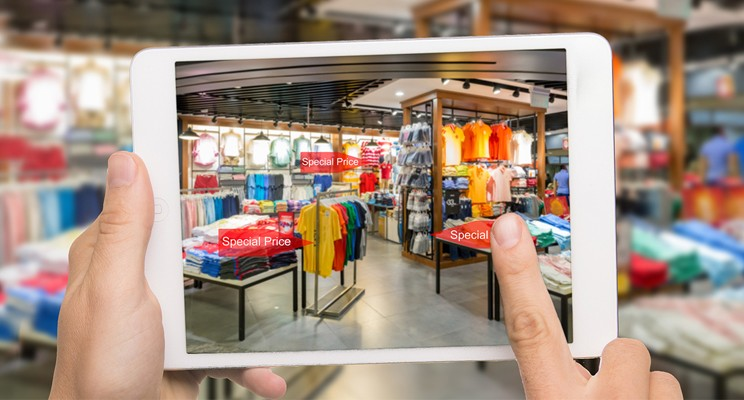 The future of local retail - blending physical with virtual to create 'special'.
