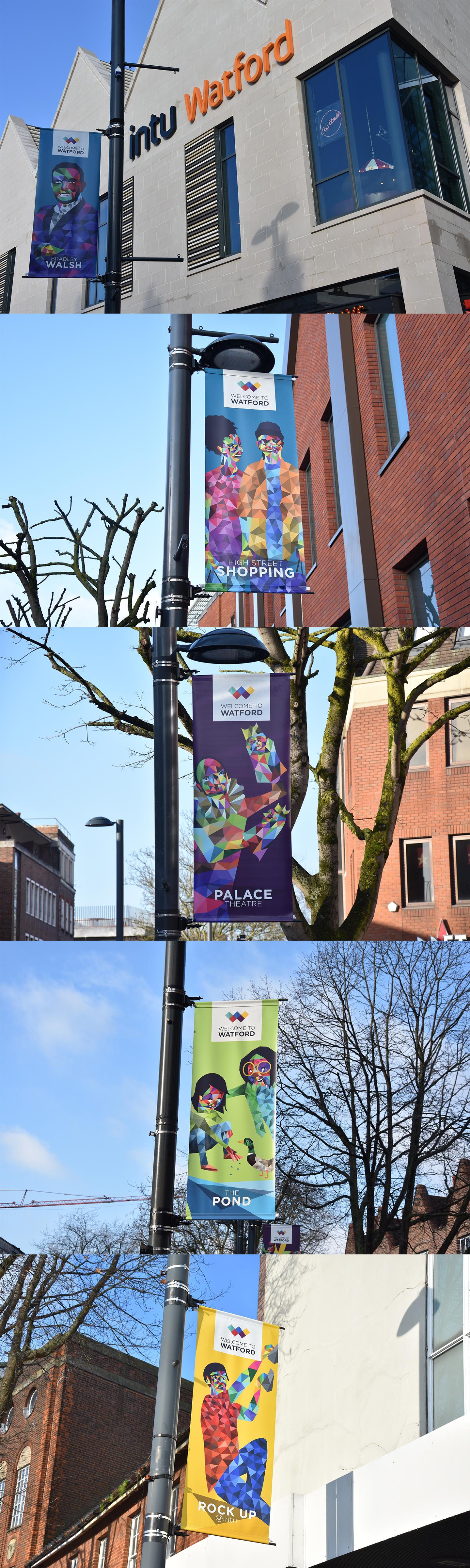 Watford BID Banners 4