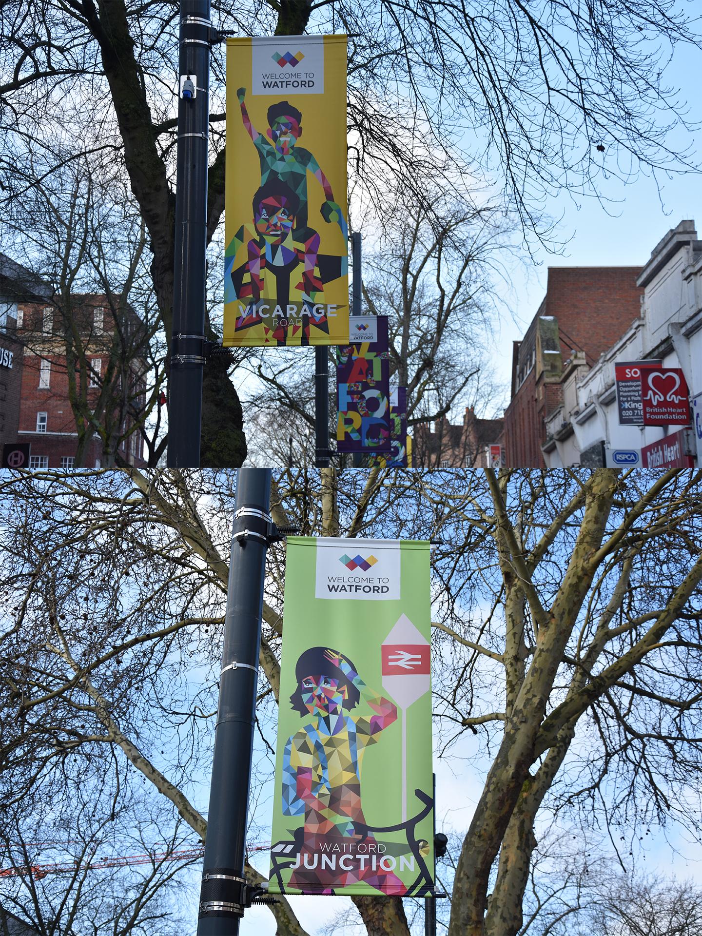 Watford BID Banners 1